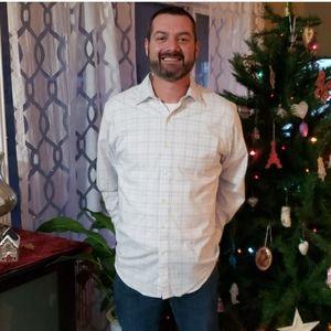 Van Heusen Shirts - Mens Button Up Dress Shirt